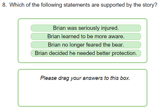 Brians winter drag drop statements